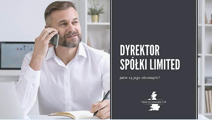 Obowiązki Dyrektora spółki Limited